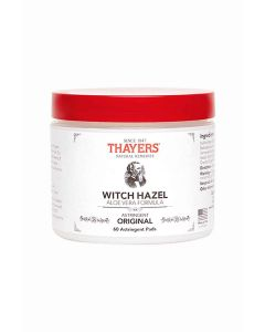 Thayers Original Witch Hazel Astringent Pads, 60 Count