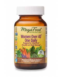 MegaFood Women Over 40 One Daily Multivitamin