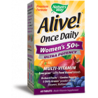 Nature's Way Alive Once Daily Women's 50+ Ultra Potency Multivitamin, 60 Tablets