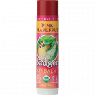 Badger Classic Organic Lip Balm, Pink Grapefruit, 0.15 oz.