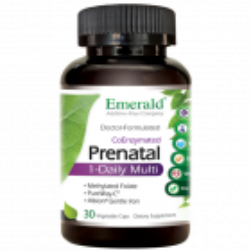 Emerald Prenatal 1-Daily Multi, 30 Veg Capsules